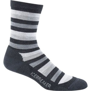 アイスブレーカー Icebreaker レディース インナー ソックス【Lifestyle Light Crew Sock】Jet Heather/Twister Heather/Blizzard...