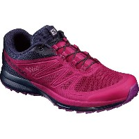 サロモン Salomon レディース ランニング シューズ・靴【Sense Pro 2 Running Shoe】Sangria/Evening Blue/Grape Juice
