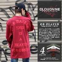 CLOUD NINE クラウドナイン CD HEAVEN LONG SLEEVE T-SHIRT