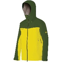 マムート メンズ アウター ジャケット【Mammut Crater Hard Shell Hooded Jacket】Limeade / Seaweed