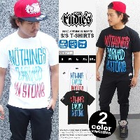 RUDIES ルーディーズ Tシャツ 半袖 Nothing's Carved In Stone x RUDIE'S DRAWING-T [8474-89] 【rudies tシャツ 半袖 黒 白...