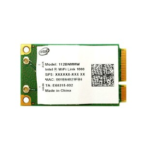 インテル Intel WiFi Link 1000 2.4GHz 802.11b/g/n PCIe Mini 無線LANカード 112BNMMW