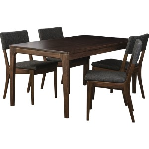 ATEMPO DINING TABLE 150 WAL+A TEMPO DINING CHAIR WAL×4アテンポ ダイニング 5点セット ウォールナット[D VECTOR PROJECT...