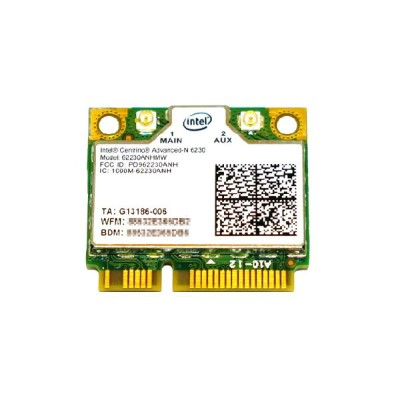 インテル Intel Centrino Advanced-N 6230 Dual Band 802.11a/b/g/n 300Mbps + Bluetooth 3.0 PCIe Mini half...