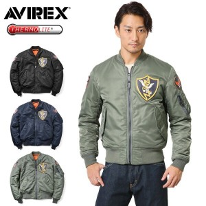AVIREX アビレックス 6162172 MA-1 PATCHED FLYING TIGERS フライトジャケット【WIP03】
