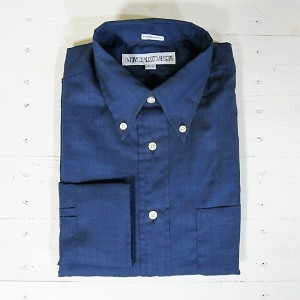 individualized shirts インディビジュアライズドシャツ [ls][ultra light poplin][standard][navy]