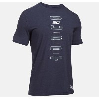 Under Armour SC30 Vertical T-Shirt メンズ Midnight Navy/White Tシャツ アンダーアーマー Stephen Curry ステフィン・カリー