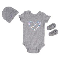 nike 3 piece graphic onesie set girls infant ナイキ グラフィック ロンパース ファッション パジャマ マタニティ キッズ ボディスーツ 下着 ベビー服...