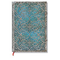 Paperblanks ノート Journals Maya Blue Grande Unlined PB2559-7 正規輸入品