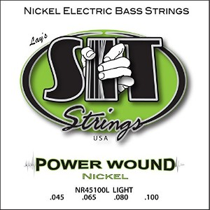 SIT STRINGS エスアイティストリングス エレキベース弦 PowerWound  ロングスケール LIGHT NR45100L   .045-.100 【国内正規品】