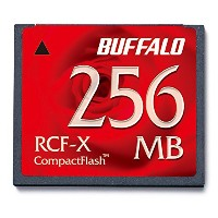 BUFFALO RCF-X256MY コンパクトフラッシュ 256MB