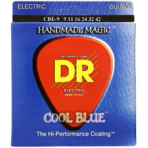 DR EXTRA-Life COOL BLUE エレキギター弦 DR-CBE9