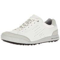 [エコー] ゴルフシューズ MEN'S GOLF STREET RETRO 150604 54322 White EU 45(28cm)