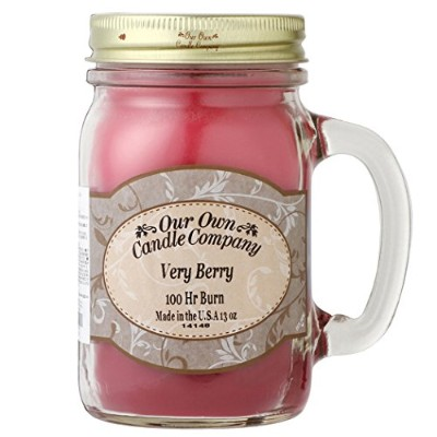 Our Own Candle Company メイソンジャーキャンドル ラージサイズ ベリーベリー OU100125