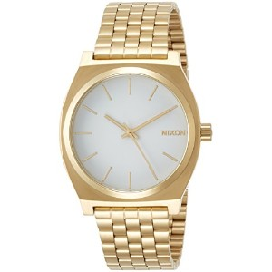 [ニクソン]NIXON TIME TELLER: GOLD/WHITE NA045508-00  【正規輸入品】