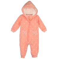 F14 1pc Girl MF Pink Dot Kitty Pockets 18 Months by Carter's
