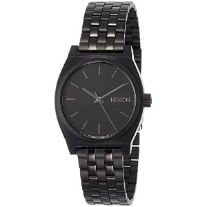[ニクソン]NIXON MEDIUM TIME TELLER: ALL BLACK NA1130001-00  【正規輸入品】