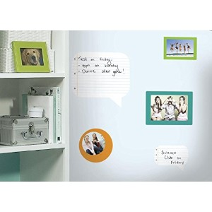 RoomMates ウォールステッカー Notepad Dry Erase & Wall Frames ノートパッド RMK1610SCS