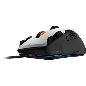 ROCCAT  Tyon – All Action Multi-Button ゲーミングマウス (White)  正規保証品 ROC-11-851-AS ロキャット