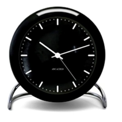 【正規輸入品】Arne Jacobsen City Hall Table Clock 43673