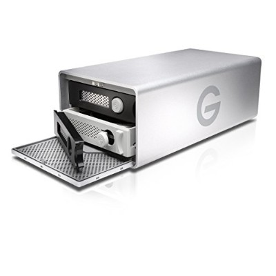 G-Technology (HGST) G-RAID Removable Thunderbolt 2対応 8TB  外付けハードディスク 【3年保証】 0G04088AZ