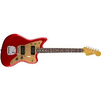 Fender フェンダー エレキギター DLX JAZZMSTER CNDY APLE RED TR