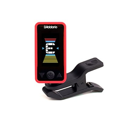 Planet Waves by D'Addario プラネットウェーブス クリップチューナー Eclipse Tuner Red PW-CT-17RD 【国内正規品】