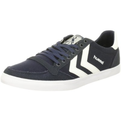 [ヒュンメル] スニーカー SLIMMER STADIL CANVAS LOW メンズ DRESS BLUE(7647) EU 42(27 cm)