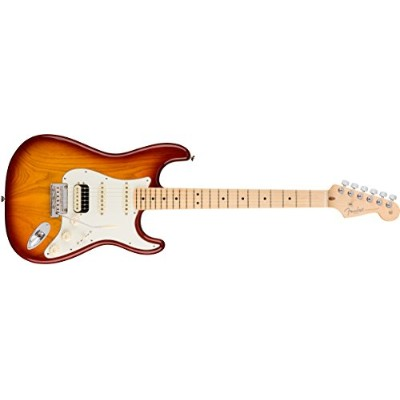 Fender フェンダー エレキギター American Professional Stratocaster HSS SHAW Maple SSB