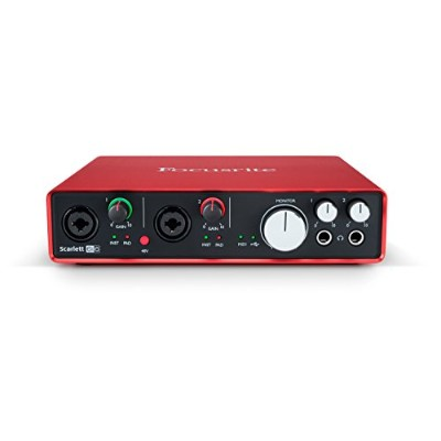 Focusrite Scarlett 6i6 G2 6in 6out 24bit 192kHz USBオーディオインターフェイス