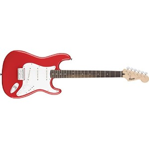 Squier by Fender スクワイア エレキギター Bullet Stratocaster® Hard Tail, Rosewood Fingerboard, Fiesta Red