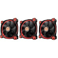 Thermaltake Riing 12 - RED LED -3pack- PCケースファン FN1077 CL-F055-PL12RE-A