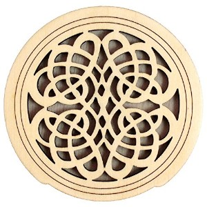 CHERRY MUSIC CGS-1 #09 Wooden Sound Hole Cover サウンドホールカバー