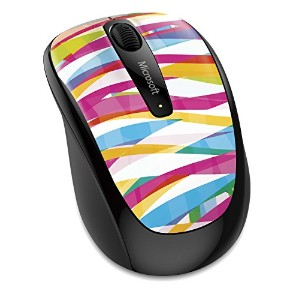 【Amazon.co.jp限定】マイクロソフト マウス ワイヤレス Wireless Mobile Mouse 3500 バンテージ ストライプス GMF-00425