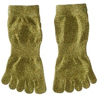 ToeSox Sport Perfdry Light Weight Ankle Brindle Olive Small Brindle Olive S(22.5cm~24.5cm)