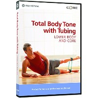 Total Body Toning With Tubing: Lower Body & Core [DVD] [Import]