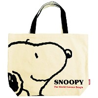 SNOOPY ビッグトートバッグ フェイス
