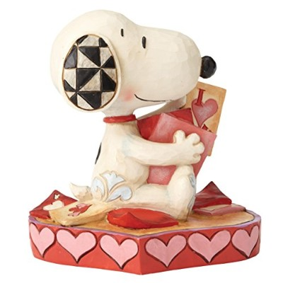 enesco PEANUTS DESIGNS BY JIM SHORE フィギュア スヌーピー Valentine's Cards #4055652 4055652