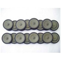 MatoToys パンター用メタルホイールセット(metal road wheels for 1/16 Panther tank)MT009