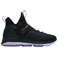 (取寄)Nike ナイキ メンズ レブロン 14 Nike Men's LeBron 14 Black Black University Red