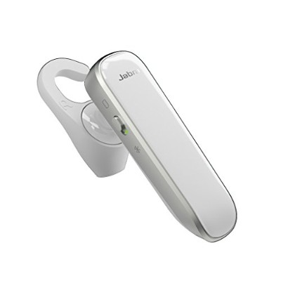 JABRA Boost White/Silver ワイヤレスBluetooth ヘッドセット 片耳