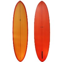 ★ MADE IN CALIFORNIA ★ Tyler Warren TW surf board Girlfriend 6'10 Surfboard