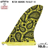 CAPTAIN FIN キャプテンフィン MITCH ABSHERE PAISLEY 10ミッチーアブシャー 10.0 シングル フィン ロングボードセンターフィン シングル フィン送料無料!!