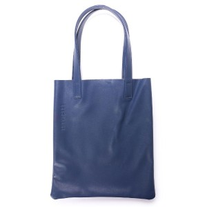 ザケース THE CASE 【massivestore】【THE CASE/ザケース】LEATHER TOTE VBOM-3758 (NAVY) レディース メンズ
