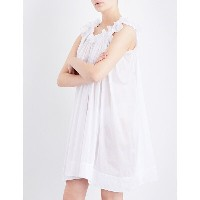 スリーグレイス three graces london レディース インナー パジャマ【leonore cotton-voile nightdress】White