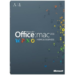 Microsoft Office for Mac Home and Business 2011-1パック [パッケージ]