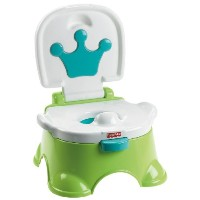 FISHER-PRICE ROYAL BLUE STEPSTOOL POTTY