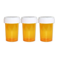 ピルケース - Medicine Pill CASE 【Medium】 3PACK (YELLOW)