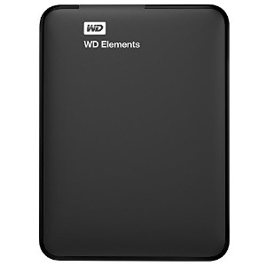 WD HDD ポータブルハードディスク 1TB WD Elements Portable WDBUZG0010BBK-EESN USB3.0/3年保証