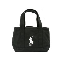 Ralph Lauren ラルフローレン MEDIUM SCHOOL TOTE 959011 BLACK